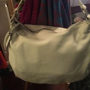 Coach summer white handbag